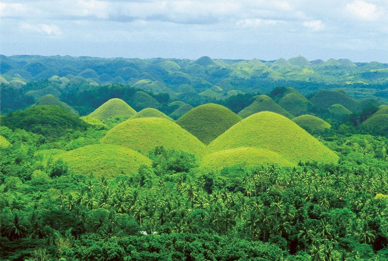 Chocolate Hills  Philippines Tourism