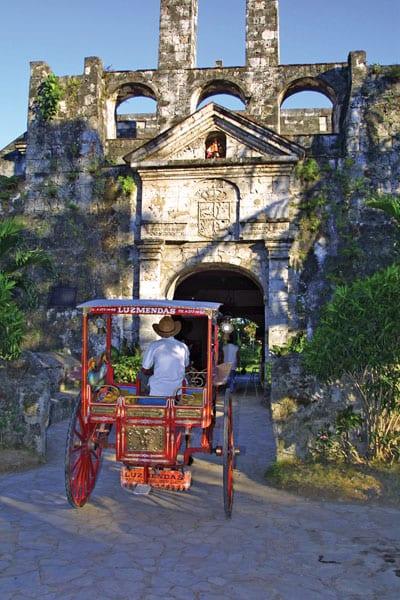 Fort Sanpedro Tartanilla  Philippines Tourism