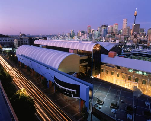 Powerhouse Museum at dusk