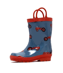 Organically Hatched Rainboots