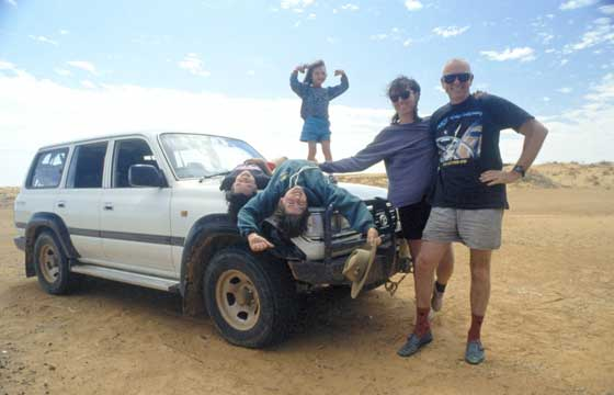 Dr Karl & Family on Holidays