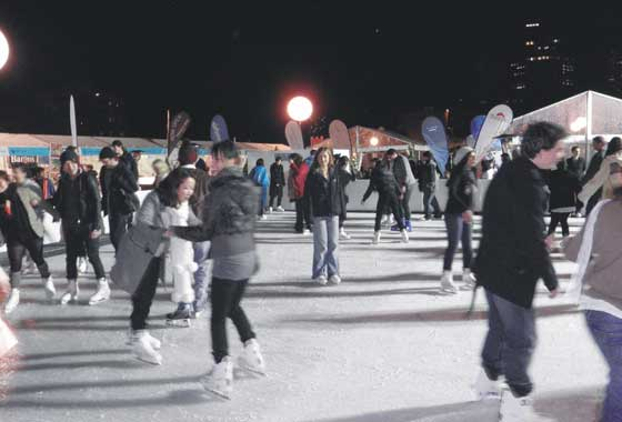Ice Skating in Canberra