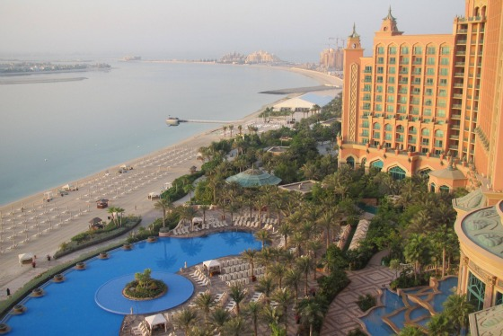 The fabulous Atlantis The Palm, Dubai
