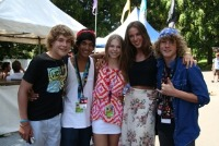 Tori Herbert with the Young Talent Team!