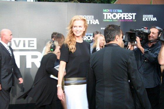 Nicole Kidman at Tropfest 2012