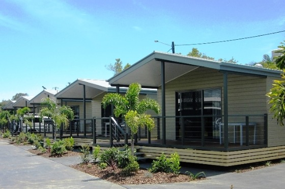 Caloundra Waterfront Holiday Park Cabins
