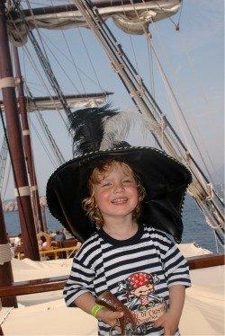 Rafferty on the high seas!