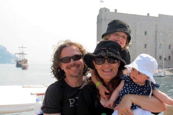 Aleney, Martin, Rafferty & Marlo on their Adriatic Aventure Cruise