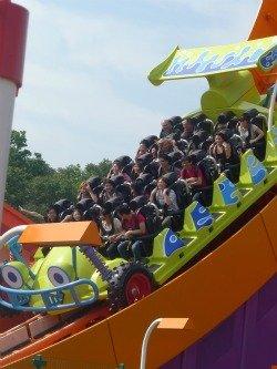 Thrilling rides at Disneyland Hong Kong