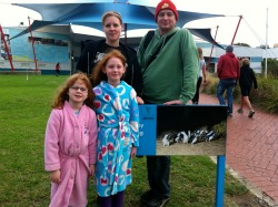 Ready for night time penguin viewing @ Phillip Island