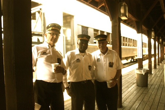 Volunteer Conductors Train Ride