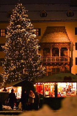 Altstadt Christmas Market - Innsbruck Austria