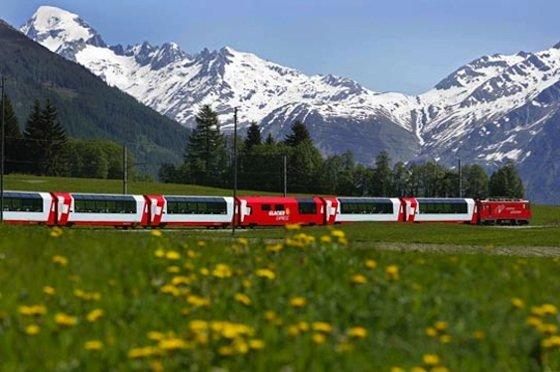 See Switzerland by rail. Image: Rail Europe