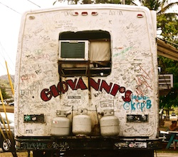 Giovanni's Food Van on Oahu's North Shore