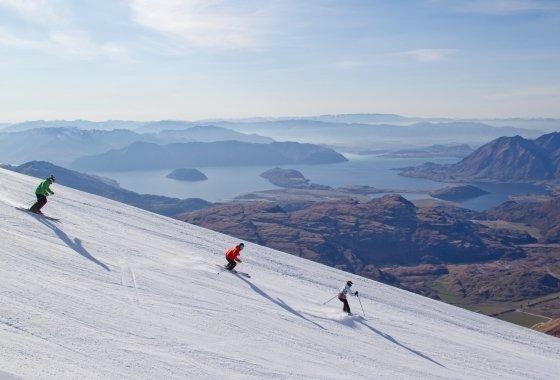 Treble Cone - Spectacular Skiing