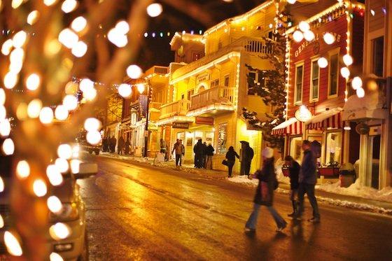 Main St at Night