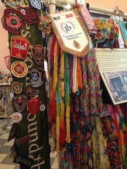 Paper Cranes in St Pauls NYC