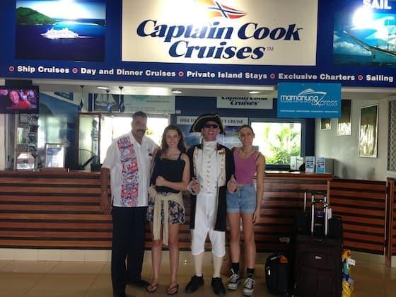 Fiji Blog Captain Cook Cruises with Tori Sam
