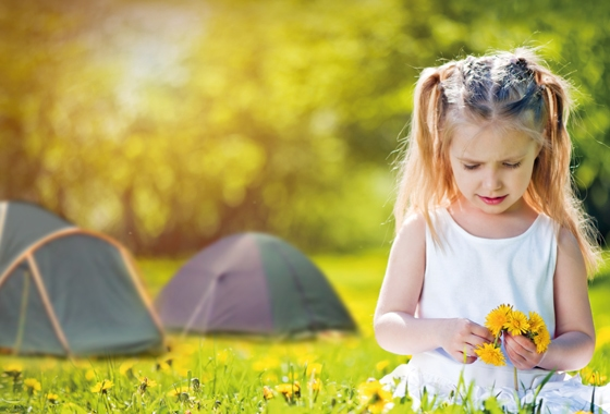 Spring school holidays at a Discovery Holiday Park
