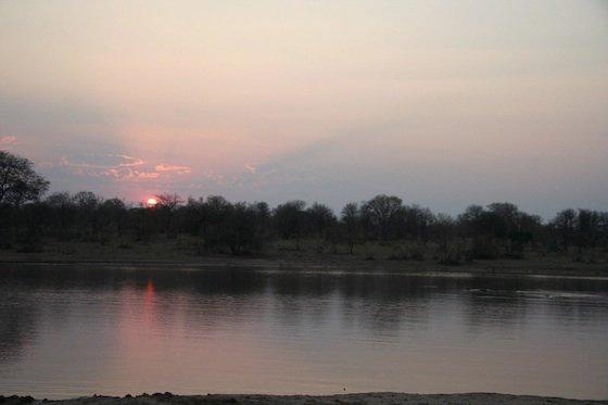 Kruger sunset over river 560