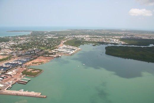 NT Darwin aerial shot
