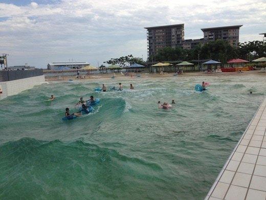 NT wave pool