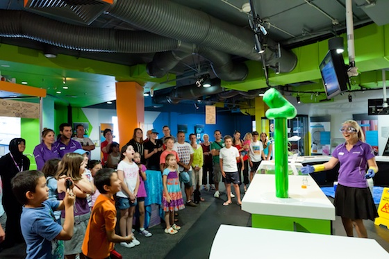 Questacon  - Tuesday, 17 January 2012