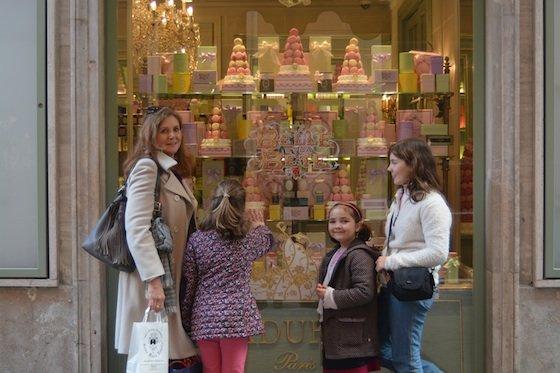 Chocolate in Europe Laduree of Paris, Rome