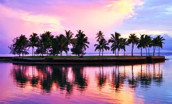 Naviti sunset