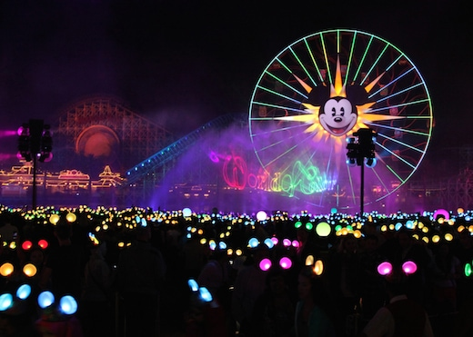 """The new """"World of Color"""" © Disney"""
