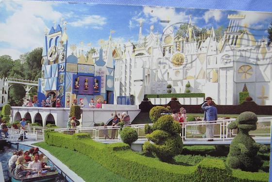 'it's a small world' - from Disneyland postcard in the '70s