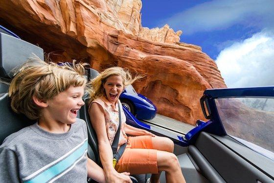 Radiator Springs Racers and Guests © Disney