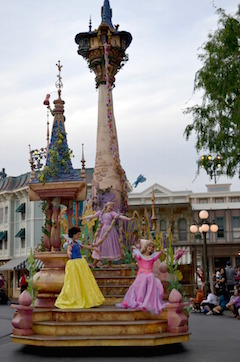 princesses in parade