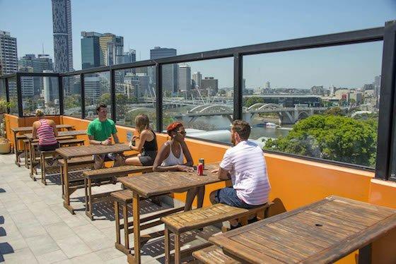 Brisbane City YHA_Rooftop