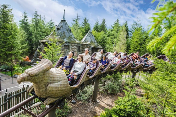 Universal Osaka Harry Potter Flight of the Hippogriff_2