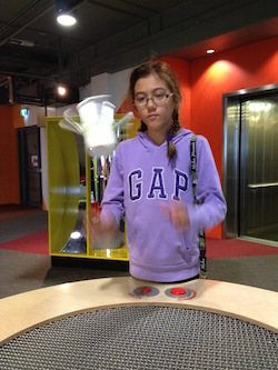 jess at Questacon