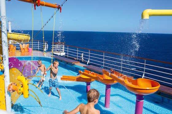 Carnival's Splash Park