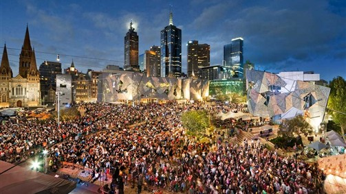 Fed Square CREDIT Visit Melbourne