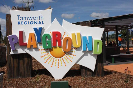 Tamworth Regional Playground logo