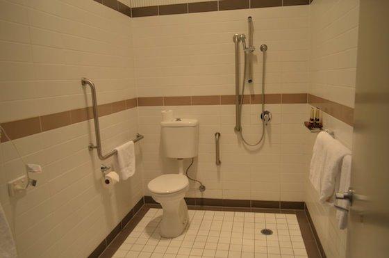 Accessible bathroom Q Station