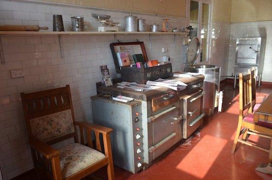 Old kitchen at Q Station