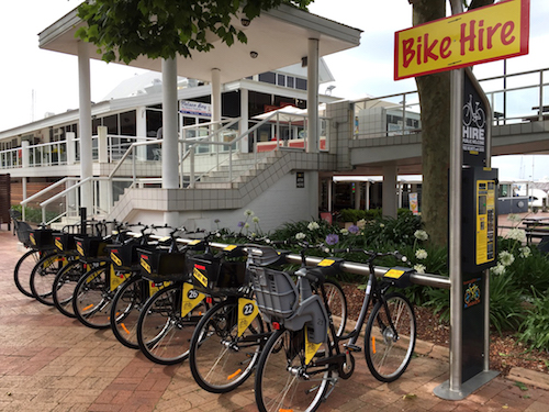 bike hire station