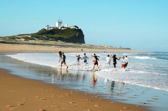 Beaches. beaches and more beaches dot the NSW North Coast! Image: Newcastle Tourism