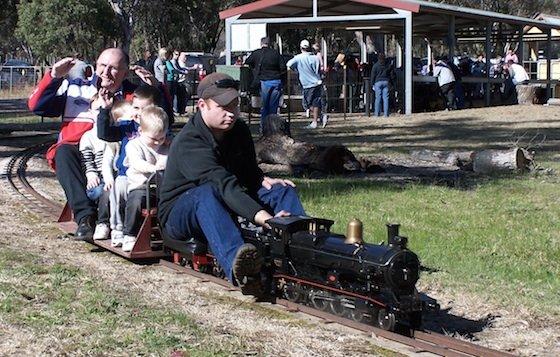 Mudgee Miniature Railway Image: Mudgee Tourism