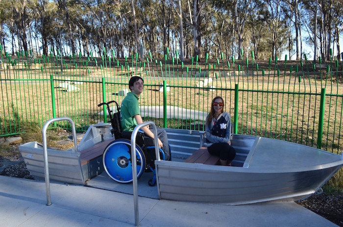 Boat at Boundless playground