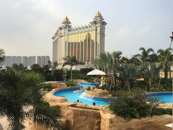 Lazy river at Galaxy Macau