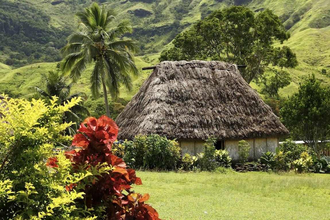 Traditional bure in Navala village, Viti Levu island, Fiji Image: iStock