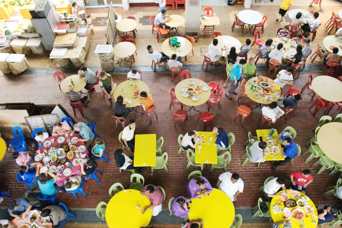 One of Singapore's fabulous Hawker Centres