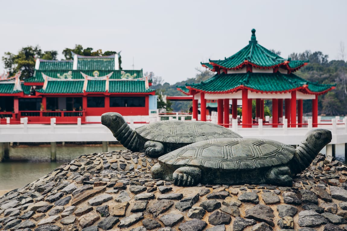 The Turtle Temple and Museum