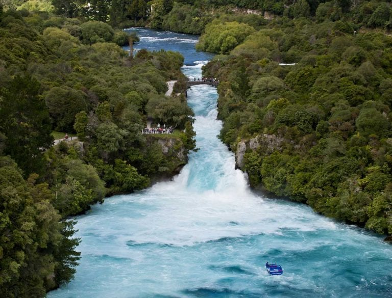 Huka Falls NZs most visited natural attraction 2